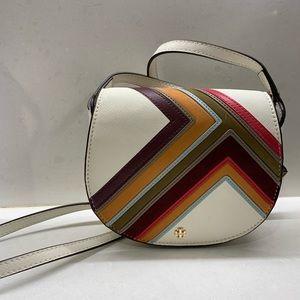 Tory Burch Robinson Multi-striped CrossBody Bag